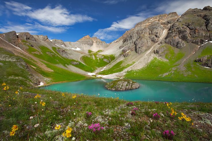 Island Lake - Silverton Five Colorado lakes you probably never knew exsisted | The Denver City Page