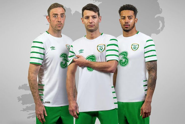 Ireland Euro 2016 Away Kit Jersey