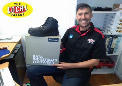 The team are loving these comfy protective workboots from Bata Industrials N.Z. quality material for half the price www.bataindustrials.co.nz