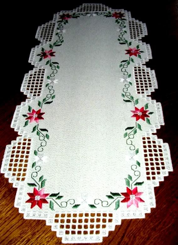 Hardanger  With Roses .