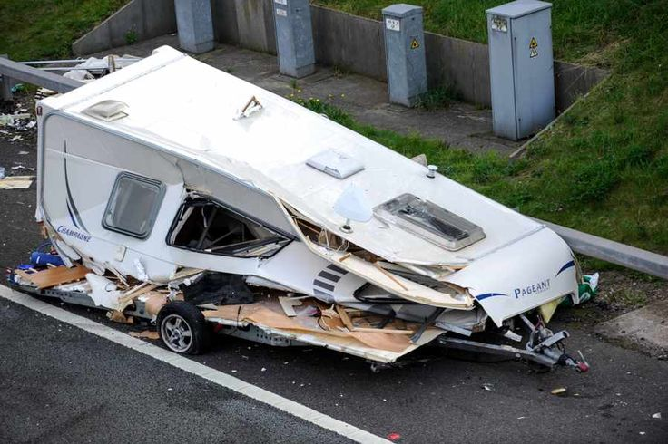 caravan horror crash - Google Search