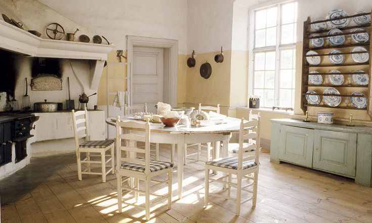 The kitchen at Regnaholm