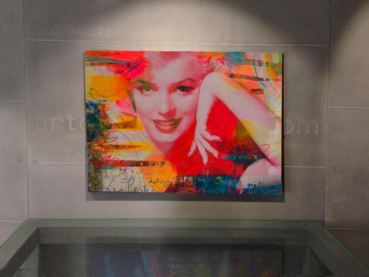 Mixed media collage art, Pop art painting, Metal wall art decor, Living Room Wall Art, Modern metal wall art, Marilyn Monroe, Figurative Art by LennerGogliStudio on Etsy https://www.etsy.com/listing/263940450/mixed-media-collage-art-pop-art-painting