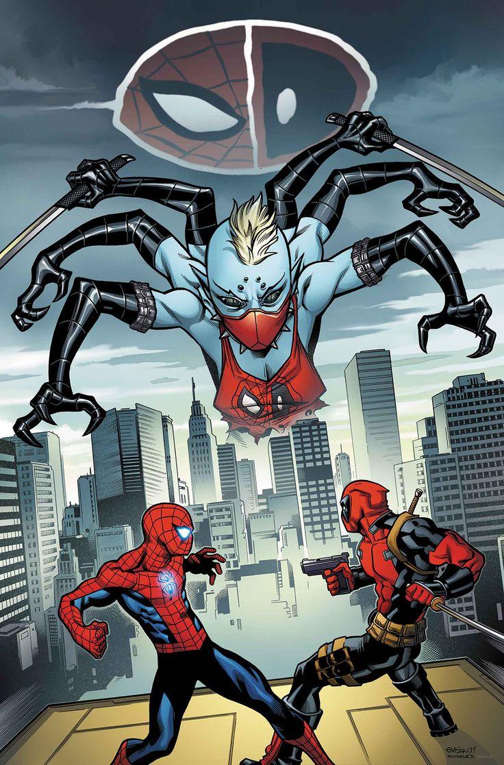 SPIDER-MAN DEADPOOL #17El paciente Zero y Itsy Bitsy han estado matando en los nombres de Spider-Man y Deadpool.   Esto ha enviado a Spider-Man en una cola. La única esperanza de Deadpool es llegar a Spidey antes de que el Friendly Neighborhood Spider-Man haga algo muy poco amistoso.
