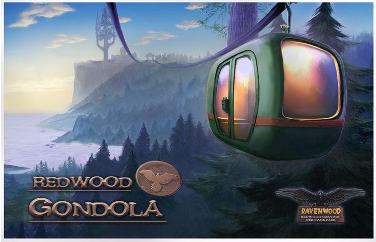 Postcards are available at the souvenir shop: http://www.artifexmundi.com/page/enigmatis2  #game #adventure #gondola #ravenwood #enigmatis
