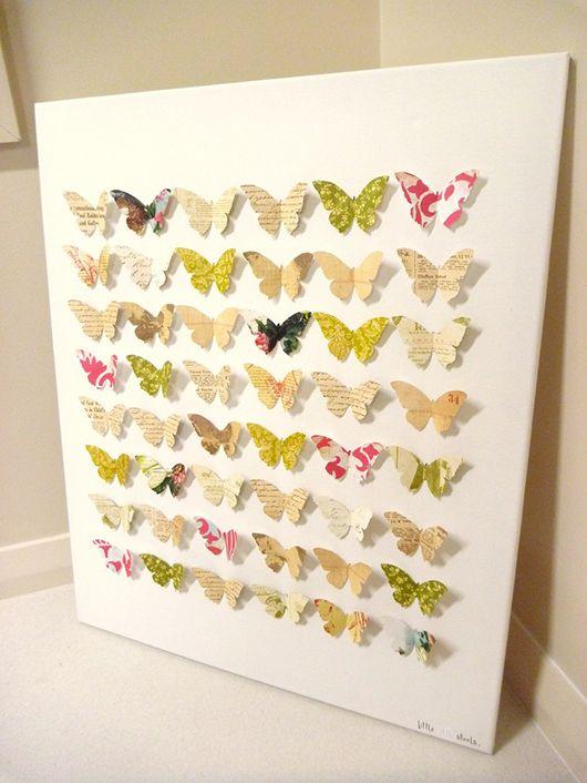 Quadro de borboletas