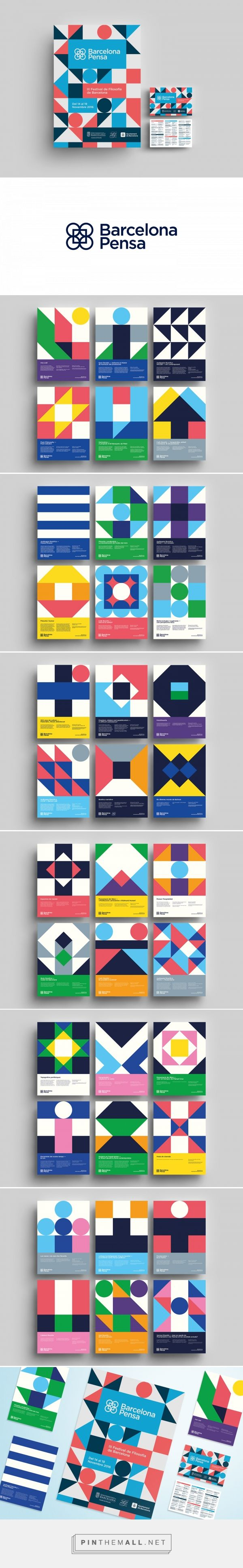 BCN Pensa 2016 on Behance... - a grouped images picture - Pin Them All