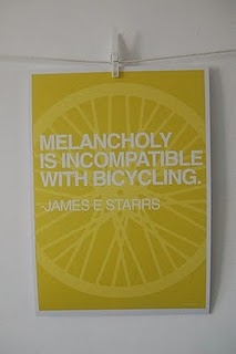 Limited Edition Cycling Print by Marc Evans