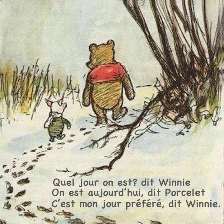 Winnie, je t'aime <3 #power patate#optimisme