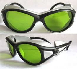 China 1064nm Green Lens Laser Safety Glasses , Lab Safety Goggles supplier