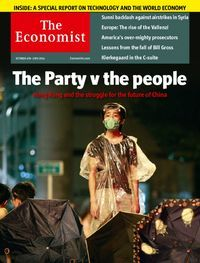 The Economist magazine available to checkout and read on on your computer, smartphone or tablet #business #magazines #zinio