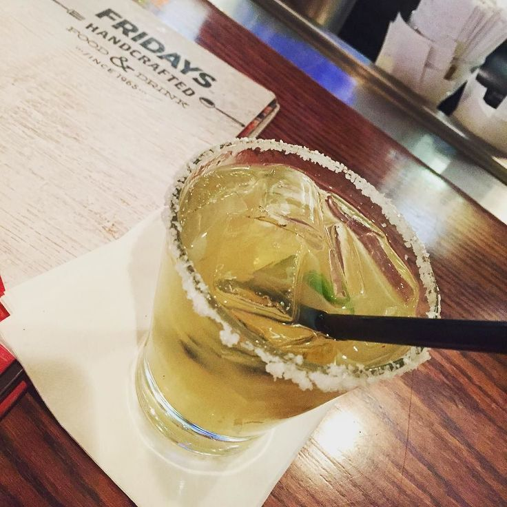 Why yes I do believe a Patron reposado marg sounds just right. @tgifridaysofficial