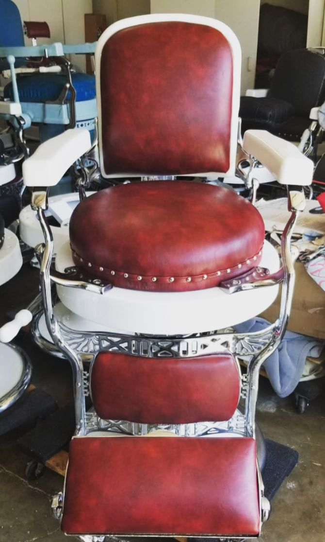 1920s Koken Barber Chair 3500 Barber Chair Chair Luxury