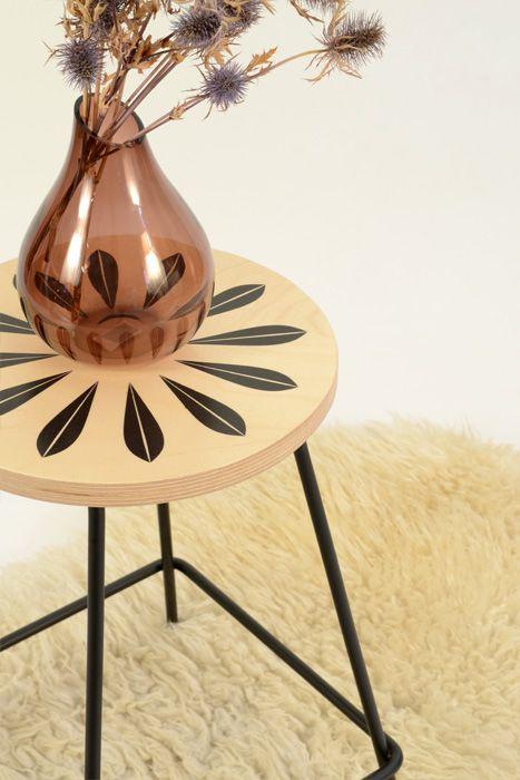kruk klein #kruk#hout#print#zeefdruk#staal