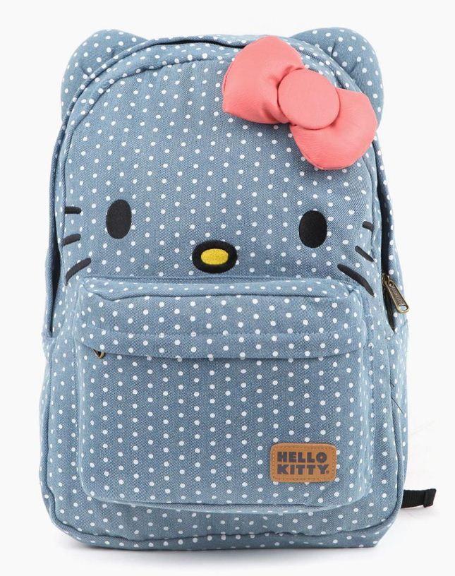 We're slightly dotty for this #Loungefly x #HelloKitty backpack QUIERO DE VERDAD, por que estas cosas no estaban cuando era niña o adolescente?