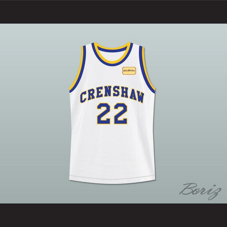 Quincy McCall 22 Crenshaw High School Basketball Jersey with Love and Basketball Patch. STITCH SEWN GRAPHICS AND EMBROIDERED PATCH CUSTOM BACK NAME CUSTOM BACK NUMBER ALL SIZES AVAILABLE SHIPPING TIME 3-5 WEEKS WITH ONLINE TRACKING NUMBER Be sure to compare your measurements with a jersey that already fits you. Please consider ordering a larger size, if you prefer a loose fit. HOW TO CALCULATE CHEST SIZE: Width of your Chest plus Width of your Back plus 4 to 6 inches to account for space for…