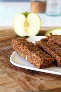 glutenvrije en suikervrije appel repen - appelrondjes, uit mini muffinvorm