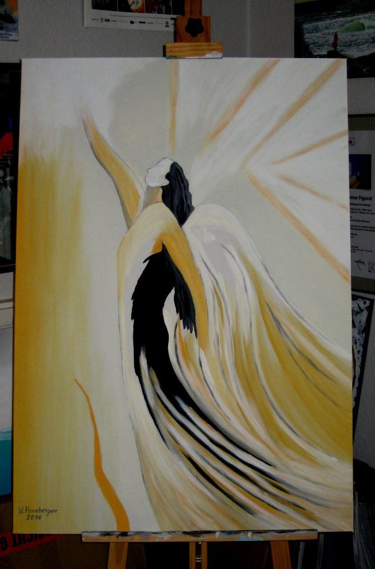 Acryl/Leinwand 100 cm x 70 cm x 3,5 cm Angels flight