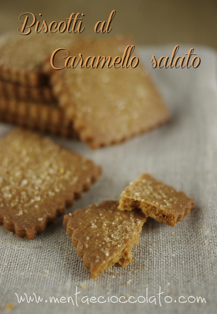 Biscotti al Caramello Salato  http://www.mentaecioccolato.com/2012/11/biscotti-al-caramello-salato.html