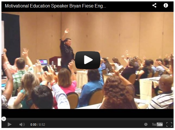 Are you a #teacher and need help keeping your students focused? Bryan Fiese has the answer.