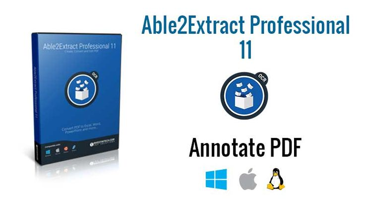 To annotate PDFs with Able2Extract Professional 11, make sure to set the visibility of PDF annotations panel first. Annotations are available for PDF...