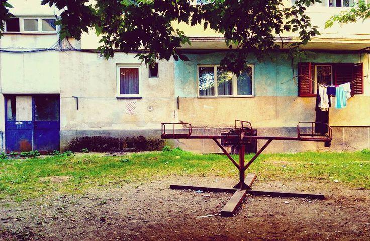 #Playground #childhood #postcommunism #Romania #baiamare