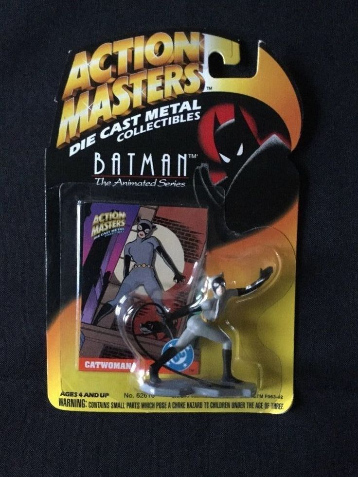 Batman The Animated Series - Action Masters Die Cast Metal Collectibles Catwoman #Kenner