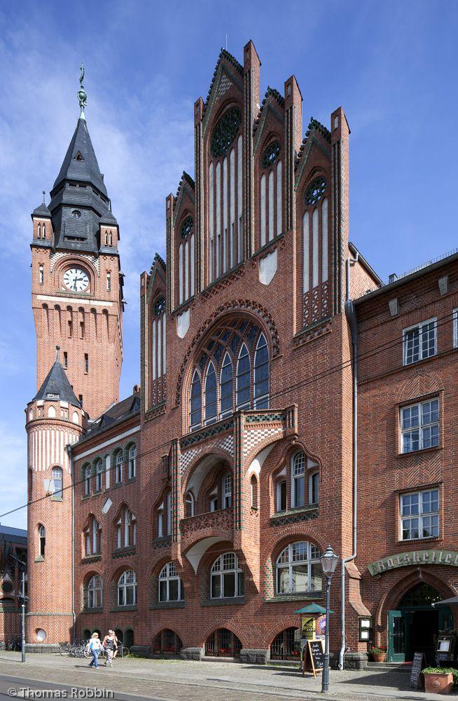 Rathaus Berlín-Köpenick - Ayuntamiento en Köpenick, Alemania · Bezirk Treptow-Köpenick