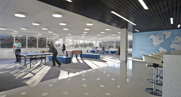 Xylem Rye Brook Office design concepts, Contemporary