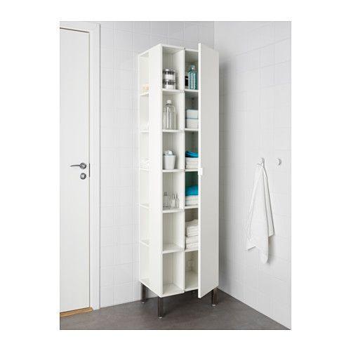 LILLÅNGEN Hoge kast 1 deur/2 afsluitelementen - wit - IKEA