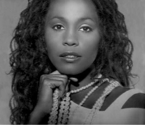 Rare photo of Whitney...gorgeous!