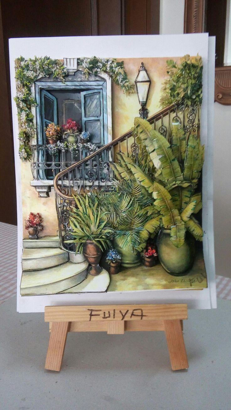 Fulya's papertole-Sümbül Eldek