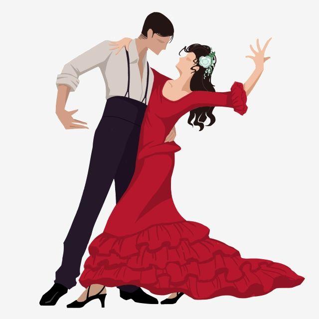 Dos Personas Bailando Flamenco Imágenes Prediseñadas De Baile Baile Flamenco Png Y Psd Para Descargar Gratis Pngtree Personas Bailando Dibujo De Personas Siluetas De Personas