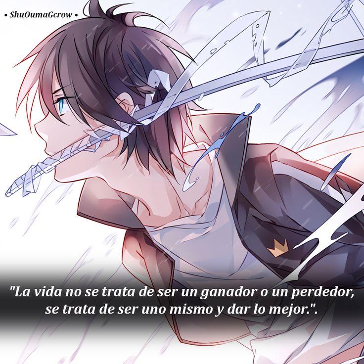 La vida no se trata .. #ShuOumaGcrow #Anime #Frases_anime #frases