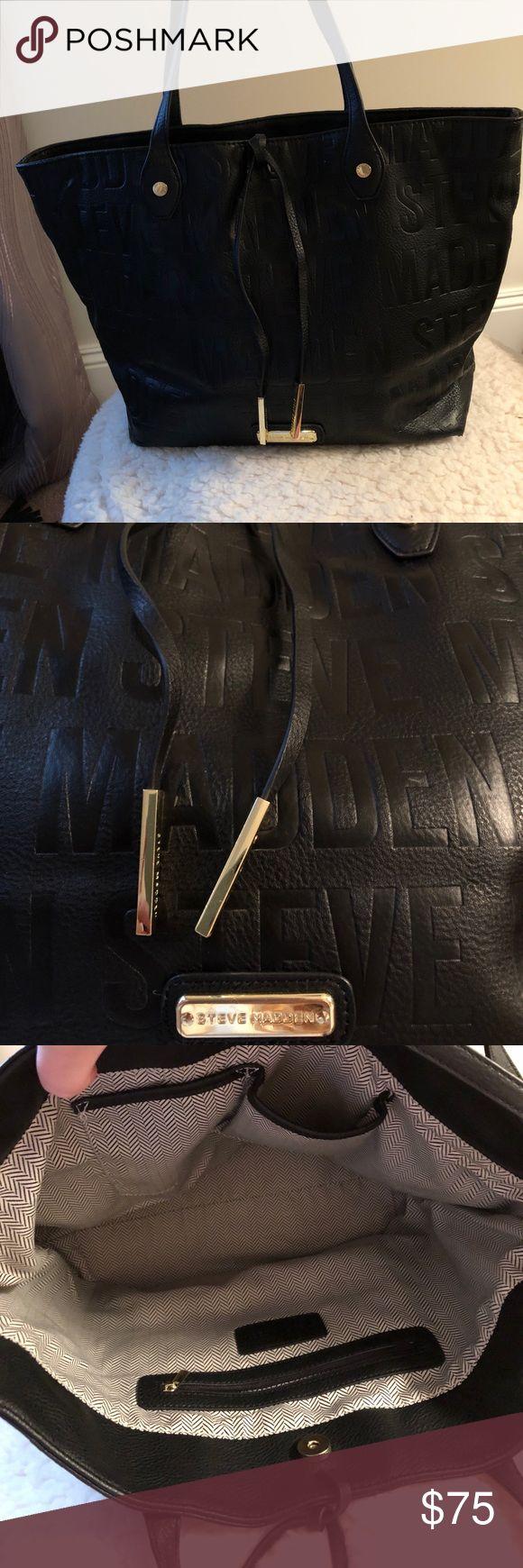 Steve Madden Handbag Medium sized bag, black Steve Madden Bags