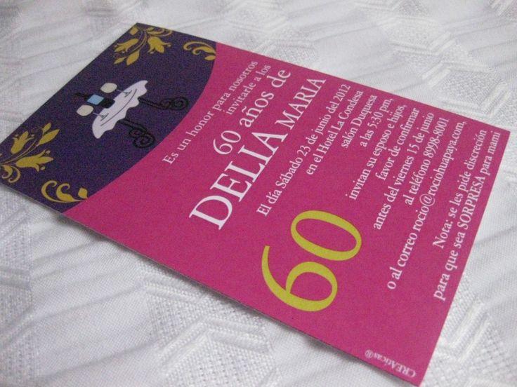 Invitaciones de cumplea os para adultos mujeres buscar - Ideas para cumpleanos adulto ...