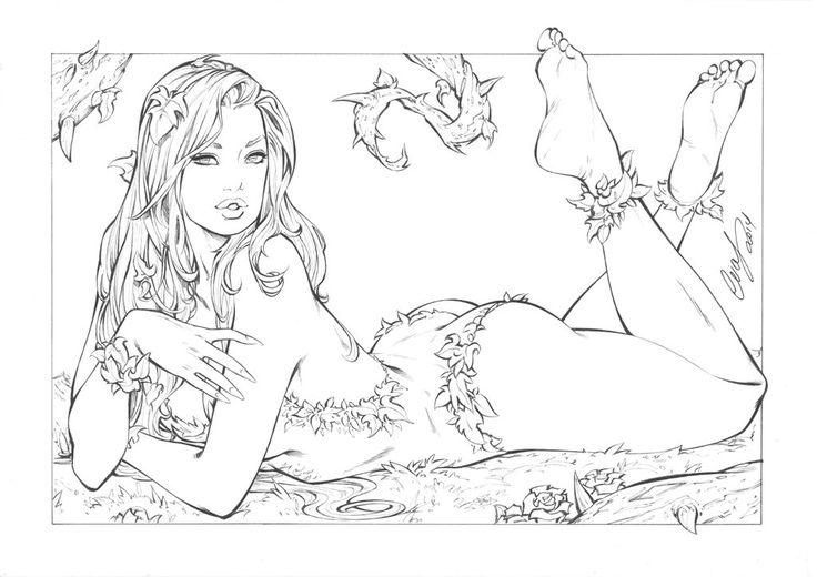 Poison Ivy by Elias-Chatzoudis.deviantart.com on @deviantART
