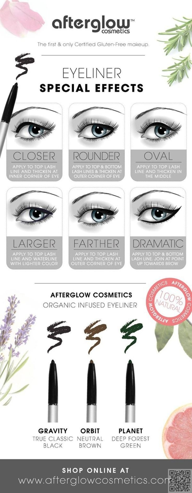 7. Liquid #Eyeliner Tips and Tricks - 29 #Makeup #Infographics for a Library of…