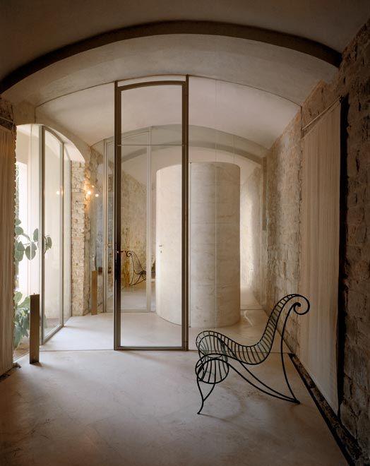 massimo e gabriella carmassi architetti / restauro casa rossi petronio, pisa