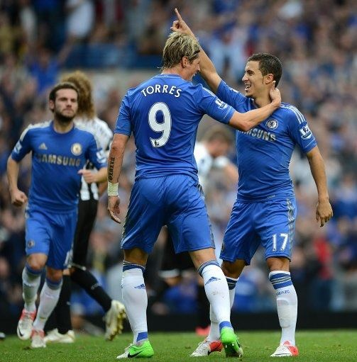 Amazing Chelsea players! Torres, Hazard & Mata <3 #KTBFFH #ChelseaFC