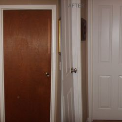 What A Difference New Interior Doors Can Make. The Older Brown Doors Were  Replaced With