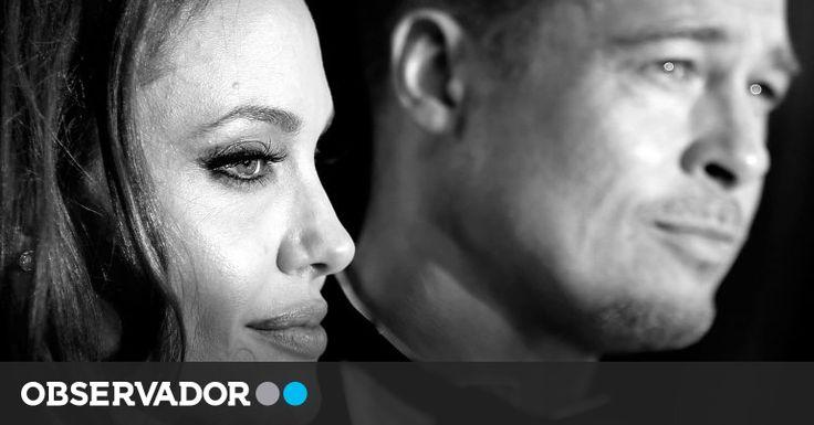 Brad Pitt e Angelina Jolie suspendem divórcio
