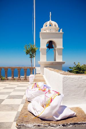 Zohodohou Pigis Church in beautiful island Tinos, Greece See more: http://www.love4weddings.gr/romantic-wedding-tinos/