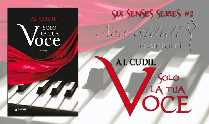 """NEW ADULT E DINTORNI: SOLO LA TUA VOCE """"Six senses series #2"""" di A.I. CUDIL"""