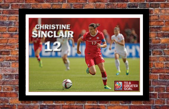 2015 Women's World Cup Soccer Event Canada  by ArtOfSports on Etsy