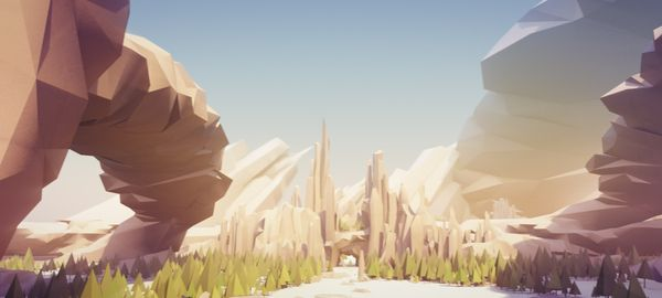Awesome low poly art