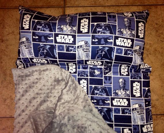 Personalized Preschool Kinder Nap Mat In Star Wars With