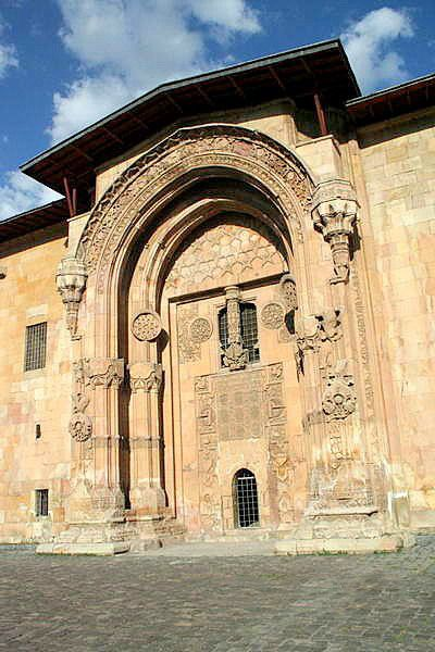 Great Mosque and Hospital of Divriği - Turkey     This region of Anatolia was conquered by the Turks at the beginning of the 11th century. In 1228–29 Emir Ahmet Shah founded a mosque, with its adjoining hospital, at Divrigi.