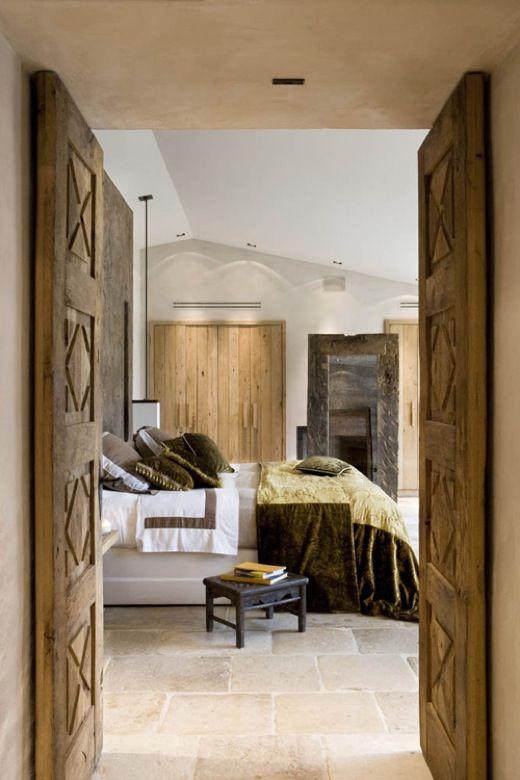 BedroomThe Doors, French Bedrooms, Bedrooms Design, Modern Rustic, Interiors Design, Design Bedrooms, Wooden Doors, Bedrooms Decor, Wood Doors