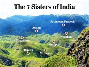 Heaven on earth is what you will find in #Northeast #India, The #Seven Wonders of North East India